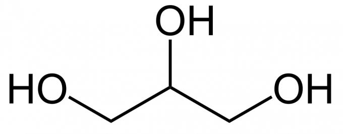 vegetable-glycerin-structure