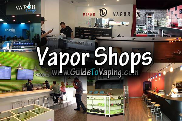 vapor shops