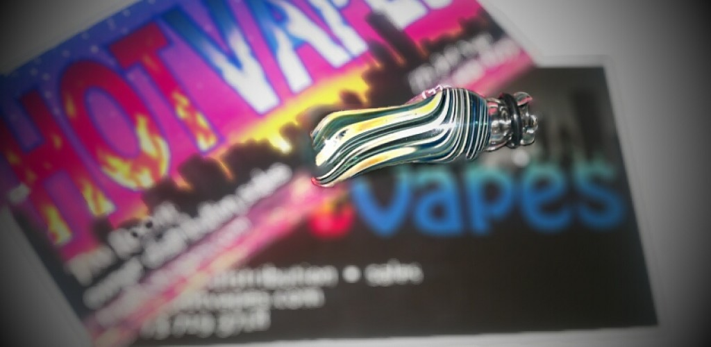 Hot Vapes Glass Drip Tip