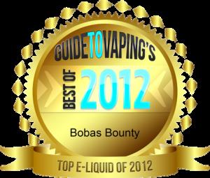 top e-liquid of 2012