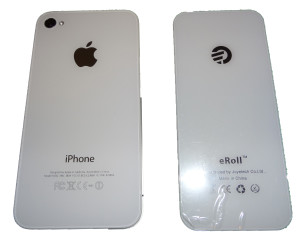 eRoll iPhone Back