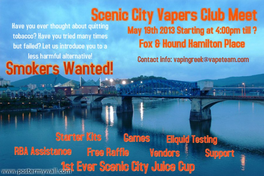 Scenic-City Vapers Club Meet