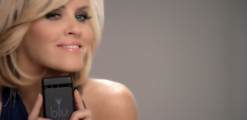 Jenny McCarthy The New Face of Blu Cigs Commercial