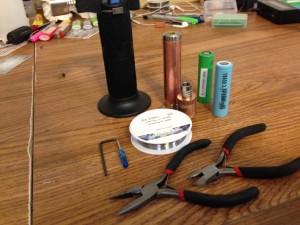 rebuildable atomizer tools