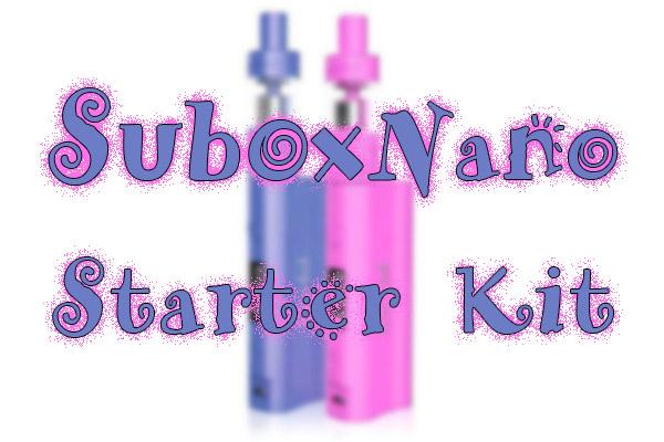 subox nano starter kit