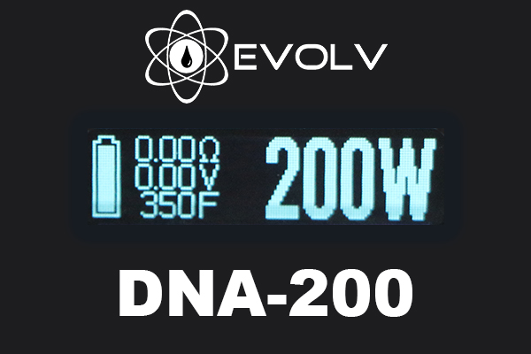 evolv dna 200 screen
