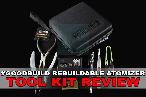 rebuildable atomizer tool kit review