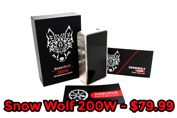 snow wolf 200w deal