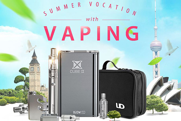 summer vacation with vaping