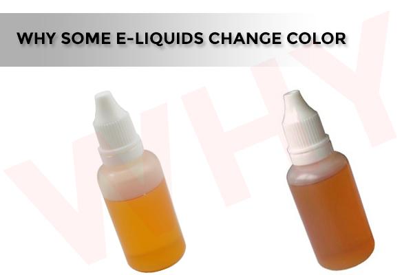 why some e-liquids change color