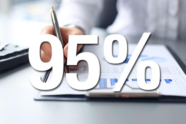 95 percent report