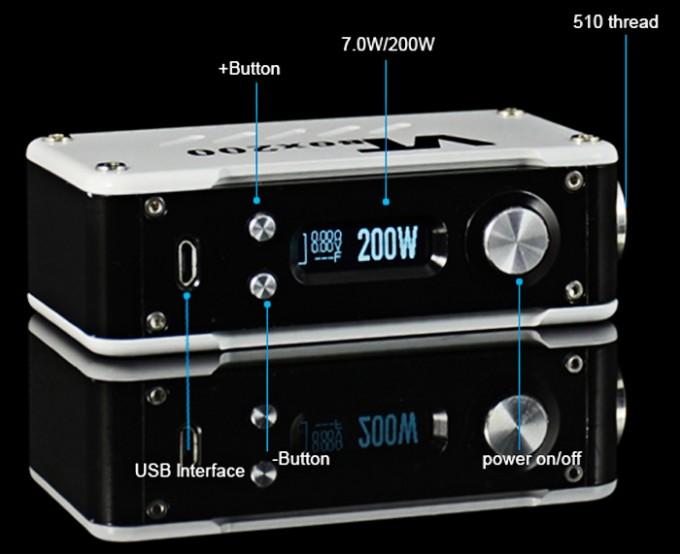 VTBox200 Screen