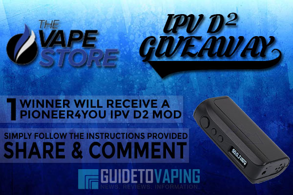 thevapestore ipv-d2 giveaway