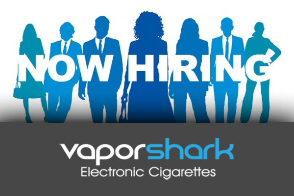 vaporshark now hiring