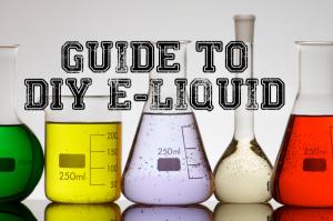 guide to diy e-liquid header
