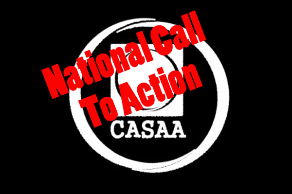 CASAA: November 23rd Call to Action