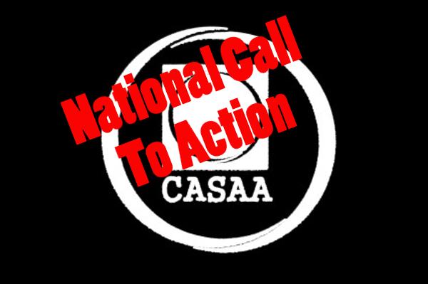CASAA: November 23rd Call to Action
