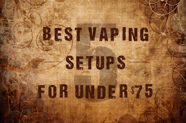 best vaping setups for under 75