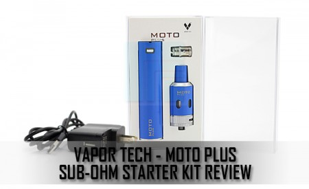 Vapor Tech Moto Plus Sub-Ohm Starter Kit