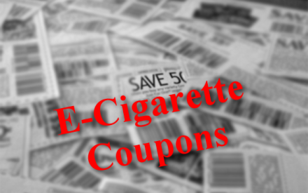 Electronic Cigarette Coupons