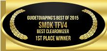 1st Place - Best Clearomizer - Smok TFV4