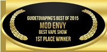 1st Place - Best Vape Show - Mod Envy