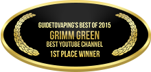 1st Place - Best YouTube Channel - Grimm Green