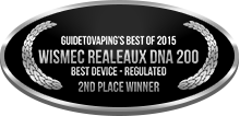 2nd Place - Best Device - Regulated - Wismec Realeaux DNA 200