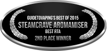 2nd Place - Best RTA - Steamcrave Aromamiser