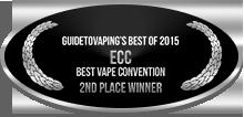 2nd Place - Best Vape Convention - ECC