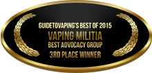 3rd Place - Best Advocacy Group - Vaping Militia