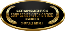 3rd Place - Best Battery - Sony Series (VTC4 & VTC5)