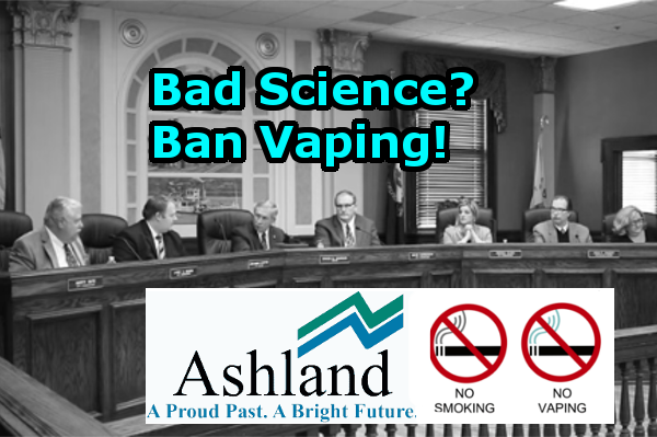 Bad science ban vaping header