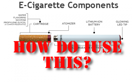 How To Put An E-Cigarette Together