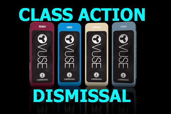 VUSE SEEKING CLASS ACTION DISMISSAL