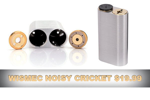 wismec noisy cricket deal