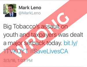 CALIFORNIA SHAFTS VAPERS:mark leno twitter