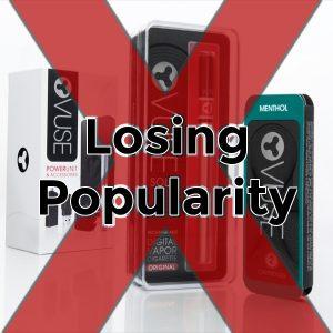E-Cigarette sales decline Vuse pack
