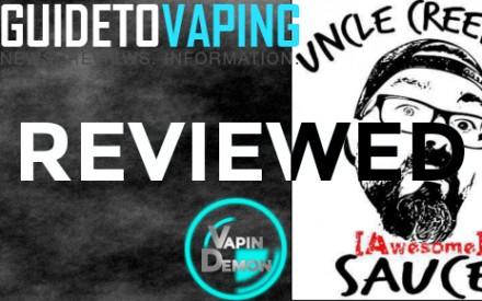 Uncle Creepy's Awesome Sauce E-Liquid Review