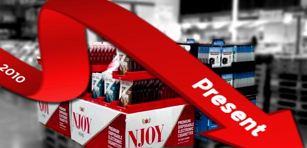 e-cigarette sales decline full story header