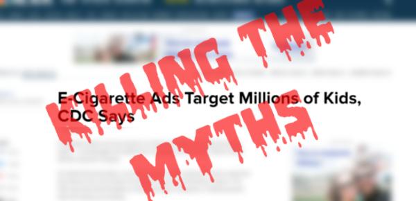 killing the myths: vaping targets teens