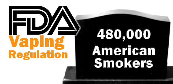 FDA regulation Of Vaping header