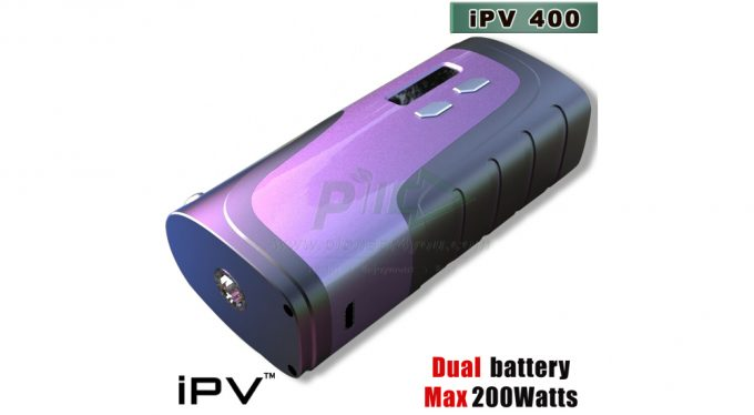 Pioneer4You IPV400 200 watt tc vape mod purple