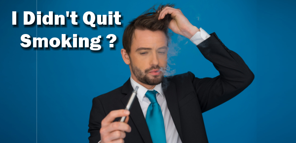 Vapers Didn't quit, they just switched