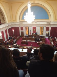 wv vaping tax hearing. balcony view