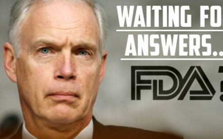 Senator Johnson Sends 2nd Letter To FDA Demanding Answers