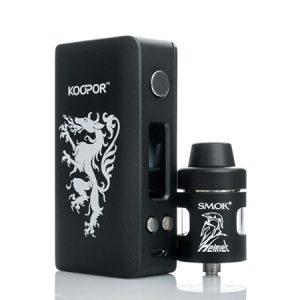-SMOKtech Koopor Knight and Helmet kit-black system