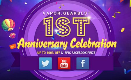 Vapor.GearBest Celebrates 1st Anniversary