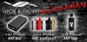 vapor authority giveaway