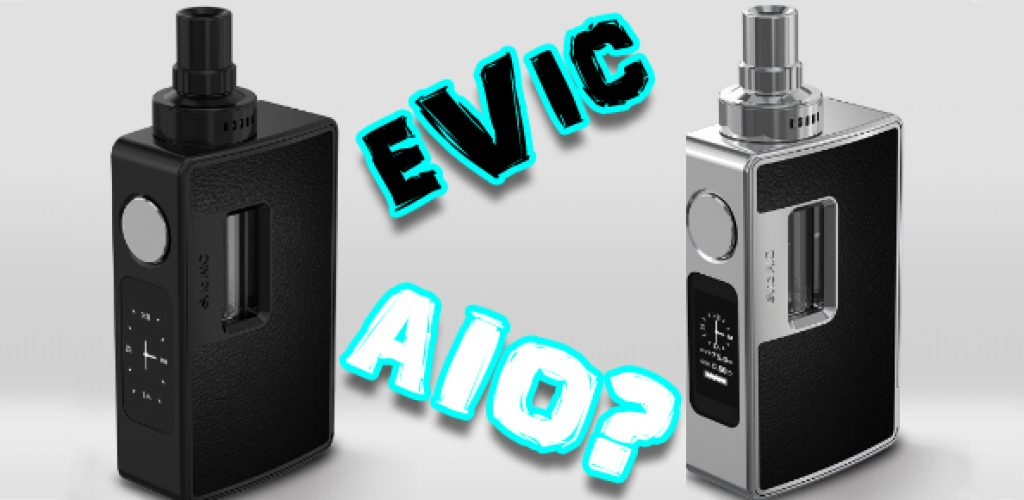 Joyetech eVic AIO All-In-One Mod Preview